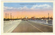 Estate Vintage Savannah Viaduct Georgia Post Card
