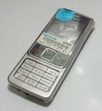 Replacement Housing Case Shell With Keypad For Nokia 6300( Silver)