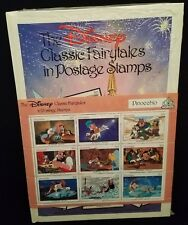 Vintage 1987 Disney Pinocchio Classic Fairytales in Postage Stamps ($2.70) Book