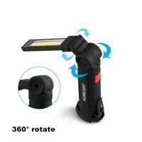 COB Torcia ricaricabile magnetica LED Lampada da lavoro flessibile Torch Garage