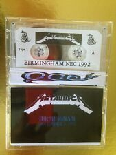 METALLICA Birmingham NEC 1992 UK CASSETTE TAPE set LIVE