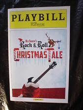 Dee Snider Rock & Roll Christmas Tale 2014 Rare Play Book Program Twisted Sister