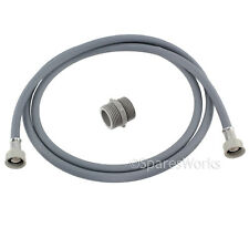 Straight End Fill Hose Inlet Extension For Candy Dishwasher 2.5m