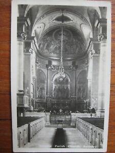Interior of Parish Church , Banbury , Oxfordshire (RP) - posted 1922