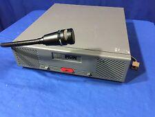 Motorola Dispatch RADIO BASE STATION Centracom Gold Series Shure VR300 Mic Left