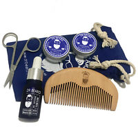 Dr Beard Grooming Gift Set-Moustache Wax, Beard Balm, Oil, Comb, Scissors &