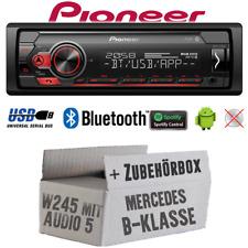 Pioneer Autoradio per Mercedes Classe B W245 Bluetooth Spotify USB Android Set