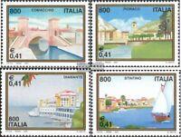 Italien 2752-2755 (kompl.Ausg.) postfrisch 2001 Tourismus