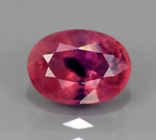 1.21 CT NATURAL OVAL PINK/BLUE SAPPHIRE, UNHEATED/UNTREATED, WINZA, TANZANIA