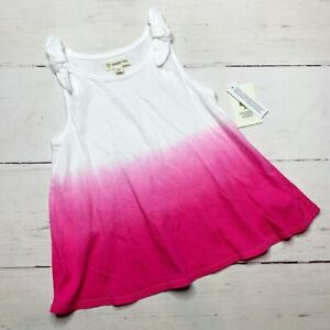NEW! Tucker + Tate Pink Ombré Tank Top Toddler Girl 5