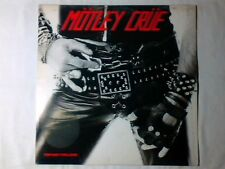 MOTLEY CRUE Too fast for love lp ITALY RARISSIMO