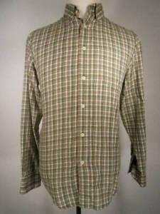 Beautiful Men's Small Ralph Lauren Chaps Multi-Color Plaid Long Sleeve Shirt GUC