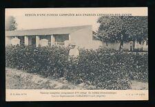 Algeria ORLEANSVILLE Station Experimentale Coton fertiliser c1900/20s?  PPC