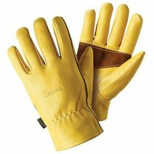 Briers Ultimate Premium Golden Leather Gardening Gloves Medium or Large
