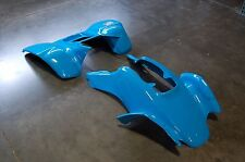 HONDA TRX400EX 99 - 07 ELECTRIC BLUE PLASTIC RACE FRONT AND REAR FENDER SET