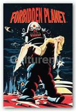 VIDEO GAME POSTER Forbidden Planet Robby Carrying Woman