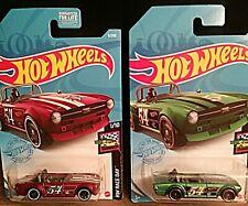 Hot Wheels (2) Triumph TR6 1/10 diecast scale 1:24