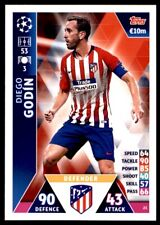 Match Attax Champions League 2018/19 - Diego Godín Athletico Madrid No.23