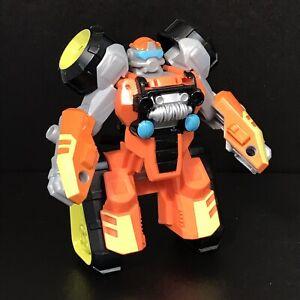 "Bushfire Rescue Bots Academy Transformers 5"" Action Figure Robot Vehicle Age 3+"