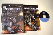 Robotech Battlecry Nintendo GameCube Video Game Complete