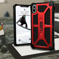 ISPORT™ Authentic  Monarch Rugged Case Urban Armour Gear RED  iPhone Xs MAX