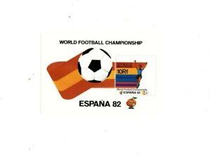 VINTAGE CLASSICS - Maldives 965 World Cup Spain Soccer - Souvenir Sheet - MNH
