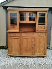 More details for stunning two piece antique french pine glazed dresser - delivery available