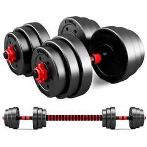 Adjustable Weights Barbell Dumbbells Set for Adults Women Men Fitness Gym