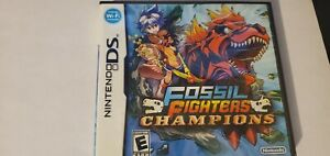 **CASE & MANUAL ONLY** Fossil Fighters Champions *Original* Nintendo DS