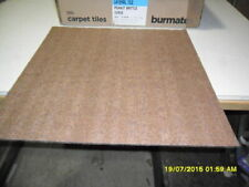 F11) 1 BOXES BURMATEX 1833 LATERAL TILES PEANUT BRITTLE QUALITY CARPET TILES
