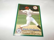 1998 Mark McGwire  Little League baseball Graduate! FREE SHIPPING IN USA!