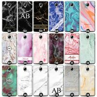 Personalized Marble Phone Case/Cover for OnePlus Smartphone Initials/Name/Custom