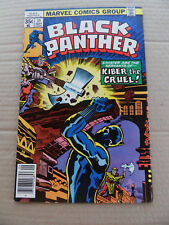 Black Panther 11. Jack Kirby - Marvel 1978 -  VF - minus