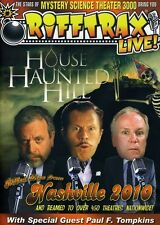 RiffTrax Live!: House on Haunted Hill DVD Region 1 WS