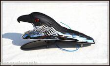Tête d'Aigle d'ornement Noir & Chrome pour garde boue - moto custom trike shadow