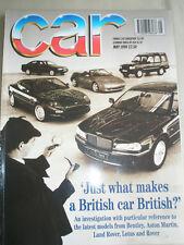 Car May 1994 Audi A8, Fiat Punto 55S