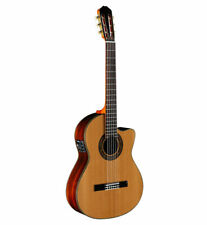 Alvarez CY75CE Yairi Classical Cutaway Electric Acoustic With Case