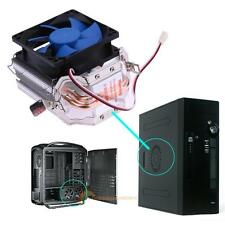 Mute CPU Cooler Fan Dual Heatpipe Heatsink Radiator For Intel AMD Platforms