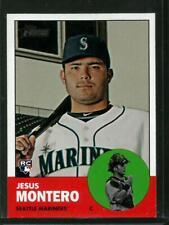 2012 Topps Heritage #60 Jesus Montero NM-MT Mariners