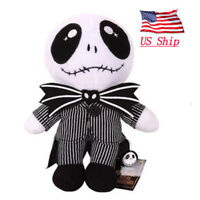 """US! The Nightmare Before Christmas Baby Jack Skellington 8"""" Plush Doll Toy Gift"""