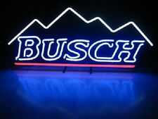 """New Busch Beer Mountain Neon Light Sign 20""""x16"""""""