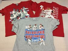 Philadelphia Phillies (Lot of 3) Shirts Youth Sizes Med #P-69