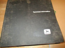 JOHN DEERE 755A CRAWLER LOADER TECHNICAL MANUAL TM 1231 WITH BINDER.