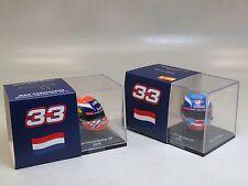 Max Verstappen Arai Helmet Set Spark 1/8 Winner GP Spain Front row  GP Belgium