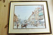 Limited edition #229 F&G print of Margate? Kent C1906 signed R Fletcher '91