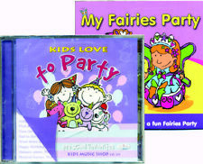 Kids Love to Party CD Party games for children  *NEW with FREE BONUS PARTY CD*