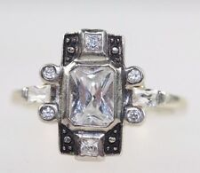 Crystal Ring Other Reproduction Vintage Jewellery