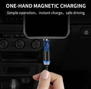 Magnetic Cable 3 in 1 USB Cable Charger Fast Charging Phone Type-C Micro USB etc