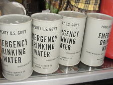 Vintage US Government Emergency Drinking Water Can Unopened