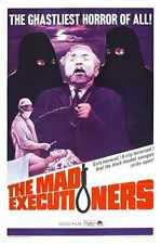 Mad Executioners Poster 01 A2 Box Canvas Print